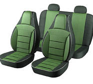 Автомобильные чехлы для авто для сидений Авто чехлы накидки майки Пилот Люкс на ВАЗ 2102 Зеленый