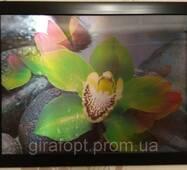 """Картина на стіну тривимірна з 3d об'ємним ефектом """"Квіти"""""""