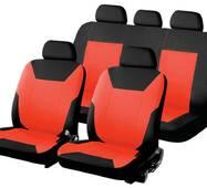 Автомобильные чехлы для авто для сидений Авто чехлы накидки майки для сидений авто ВАЗ 2105 Красный