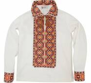 Вышиванка для мальчика с орнаментом Рахов купить в Украине
