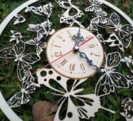 """Годинник з дерева на стіну """"Metallica"""""""