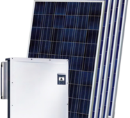 Мережева сонячна електростанція 30 кВт на СБ DNA SOLAR DNA60-12-290P