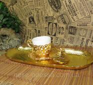 Поднос кофейный в турецком стиле. Металл. Турция.