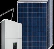 Мережева сонячна електростанція 20 кВт на СБ AEG AS-P728-335