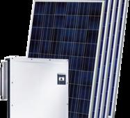 Мережева сонячна електростанція 30 кВт на СБ AEG AS-P728-335