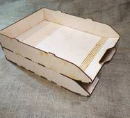 Лоток для бумаг, полочка, органайзер