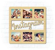 "Дерев'яна рамка для фото ""Instagram"""