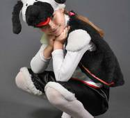 Детский карнавальный костюм Собака Песик Собачка 5,6,7,8.  Маскарадный костюм для детей