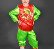 Детский карнавальный костюм Вишня Черешня для детей 3,4,5,6 лет. Костюм фрукты для девочки. 340