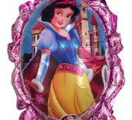 Фольгированный повітряна кулька - дзеркало принцеси 70 х 59 см.