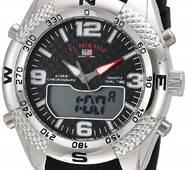 Часы U.S. POLO ASSN. черные W049