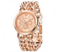 Часы GENEVA золотистые W310