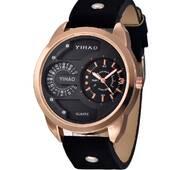 Часы YIHAO черные W318