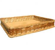 Лоток плетений з лози Корал h5 - 45*29 (ціна з доставкою)