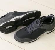 Мужские кроссовки в сеточку, с ортопедической стелькой