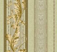 Шпалери паперові Континент Версаче оливковий 1224