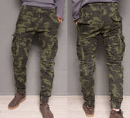 Джоггеры мужские на флисе Forex 1870-army green