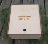 Подарункова скринька Пенал 2 (упаковка) з фанери