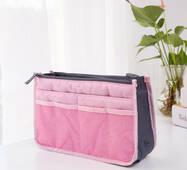 """Органайзер-косметичка для подорожей жіночий """"сумка в сумці"""""""