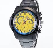Часы ABF желтые W179