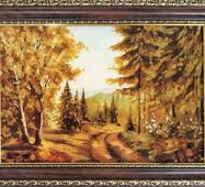"Картина из янтаря ""Гора Говерла"""