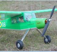 Набір деталей радіокерованої моделі літака Fi-156 Storch (розмах 1200 мм)