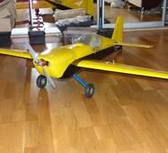 Набір деталей радіокерованої моделі літака Extra-300 (розмах 1500 мм)