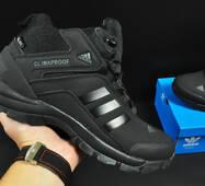 ботинки Adidas Climaproof арт 20672 (зимние, мужские, черные)