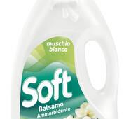 Кондиціонер-ополіскувач  SOFT Muschio Bianco  3 л /50пр/
