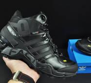 ботинки Adidas Terrex 465 арт 20669 (зимние, мужские, черные)