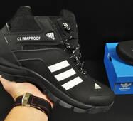 ботинки Adidas Climaproof арт 20673 (зимние, мужские, черные)