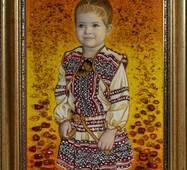 Портрет девочки из янтаря