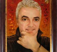 Портрет отца из янтаря