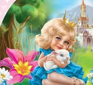 Конверты для денег детские Маленькой принцессе! 10 шт/уп