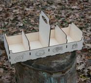 Ящик для специй из дерева