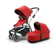 Детская коляска с люлькой Thule Sleek (Energy Red) TH 11000009
