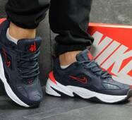 Кроссовки мужские темно синие с белым Nike М2K Tekno 6242
