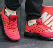 Кроссовки мужские красные Nike Air Max lunarlaunch 4953