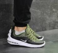 Кроссовки мужские зеленые с белым Nike Air Max Axis 7138
