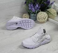 Кроссовки женские белые Nike Huarache 5036