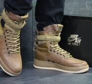 Кроссовки мужские коричневые Nike Air Force af 1 6053