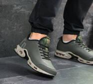 Мужские кроссовки темно зеленые Nike Air Max TN 7269