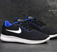Кроссовки мужские черные з синим Nike Air Max 270 5073