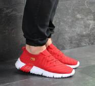 Мужские кроссовки красные Nike 7850