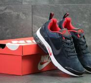 Мужские кроссовки темно синие с белым Nike 7145