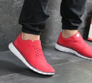 Мужские кроссовки красные Nike Free Run 5.0 7676