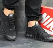Кроссовки мужские черные в точку Nike Free Run 3.0 5315
