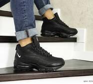 Мужские зимние кроссовки черные Nike 95 8566