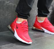 Мужские кроссовки красные Nike Air Max 270 7368