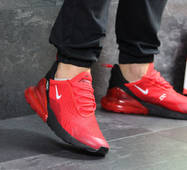 Мужские кроссовки красные Nike Air Max 270 7320